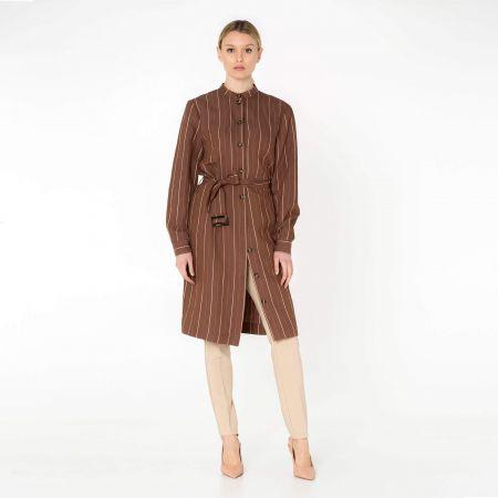 Cristina Gavioli abito donna CP0002_tabacco