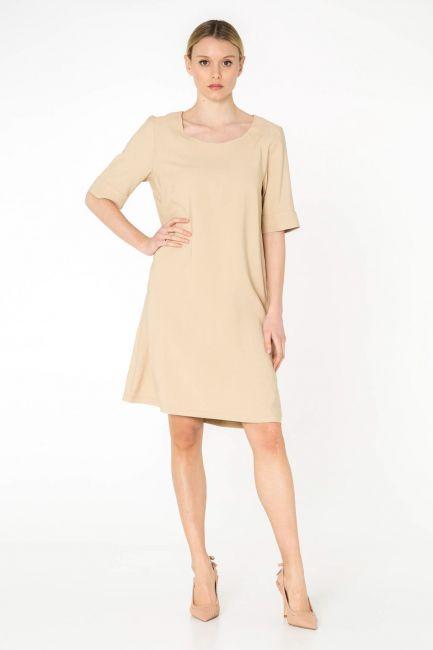 Cristina Gavioli dress woman CP0012_crema