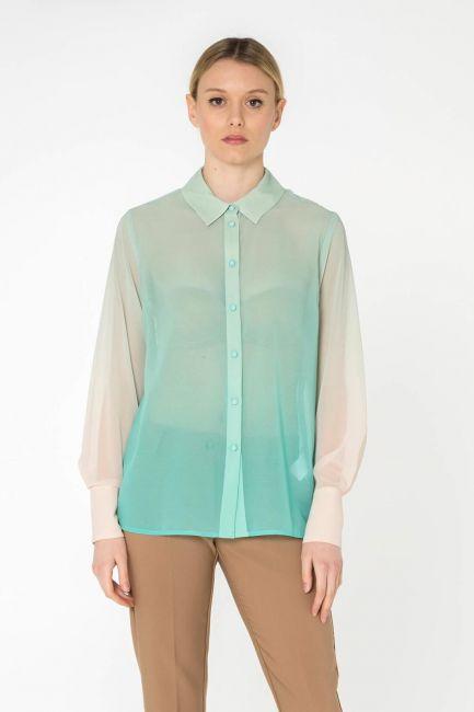 Cristina Gavioli camicia donna CP0044_crema-tiffany