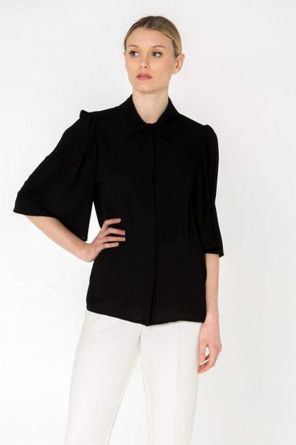 Cristina Gavioli shirt woman CP0070_nero