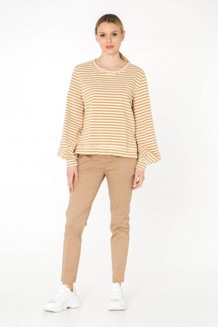 Cristina Gavioli sweatshirt woman JP0050_corda