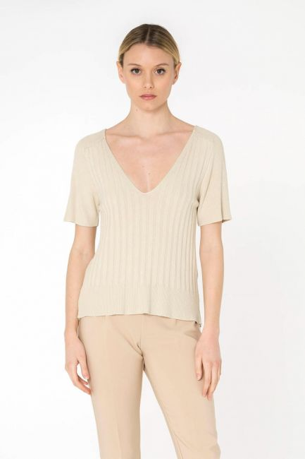 Cristina Gavioli maglia donna KP0517_beige