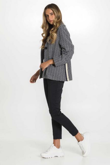 Jacket Woman Cristina Gavioli CP1000 Blu