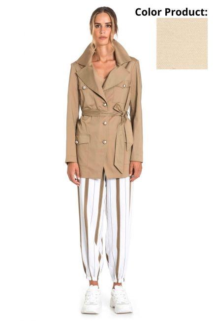 Jacket Woman Cristina Gavioli CP1001 Sabbia