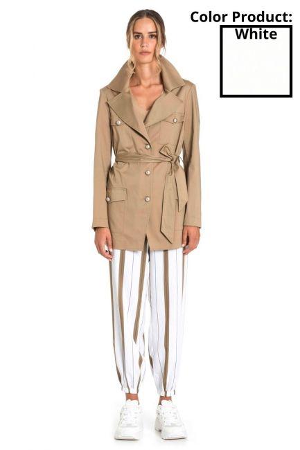 Jacket Woman Cristina Gavioli CP1001 Bianco
