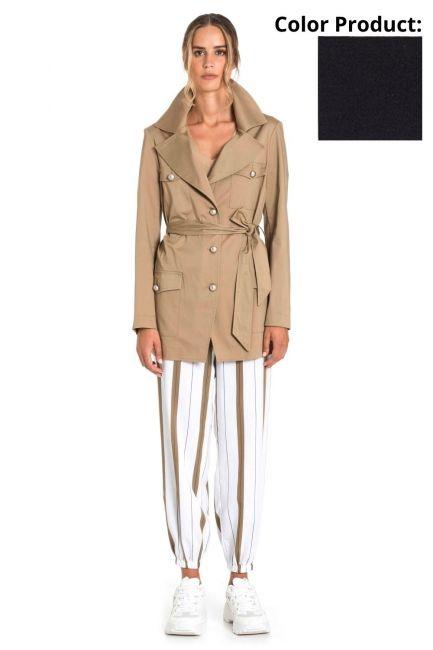 Jacket Woman Cristina Gavioli CP1001 Blu