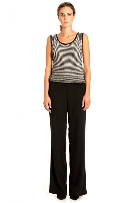 Trousers Woman Cristina Gavioli CP1005 Nero