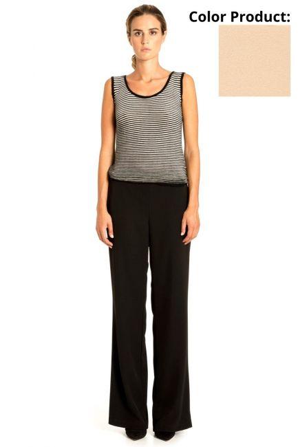 Trousers Woman Cristina Gavioli CP1005 Sabbia