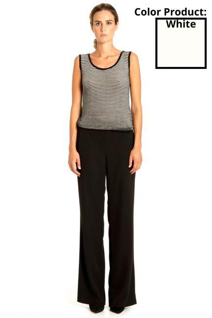 Pantaloni Donna Cristina Gavioli 3006 Naturale