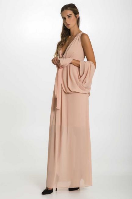 Dress Woman Cristina Gavioli CP1007 Cipria