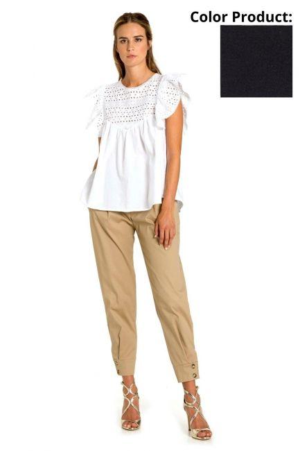 Pantaloni Donna Cristina Gavioli 6001 Blu