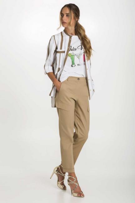 Camicia Donna Cristina Gavioli 9009 Bianco
