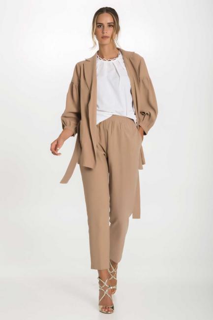 Pantaloni Donna Cristina Gavioli 1017 Deserto