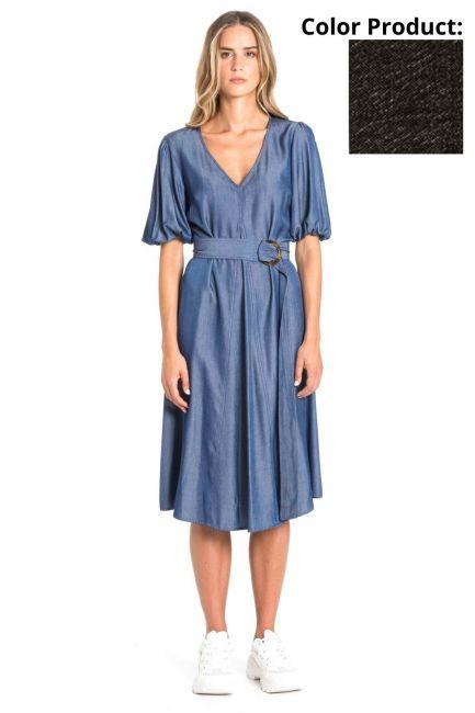 Dress Woman Cristina Gavioli CP1021 Nero