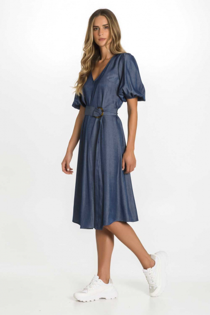 Dress Woman Cristina Gavioli CP1021 Blu