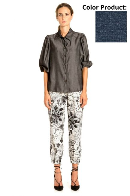 Shirt Woman Cristina Gavioli CP1023 Blu
