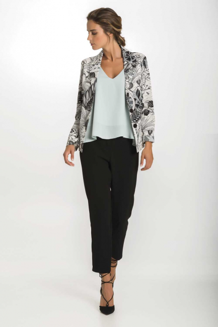 Jacket Woman Cristina Gavioli CP1028 Nero