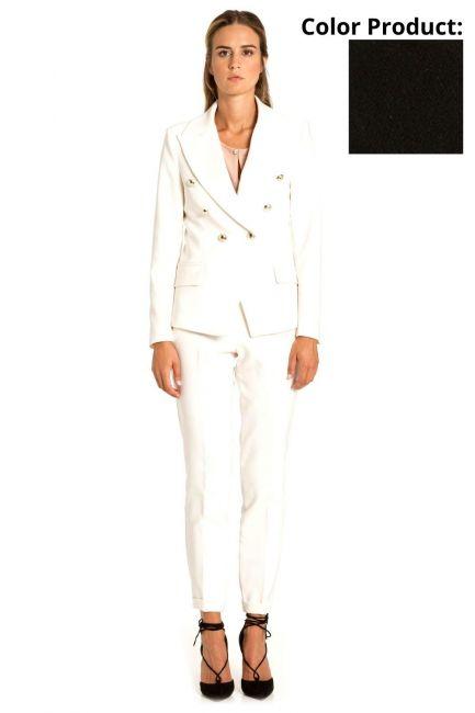 Jacket Woman Cristina Gavioli CP1031 Nero