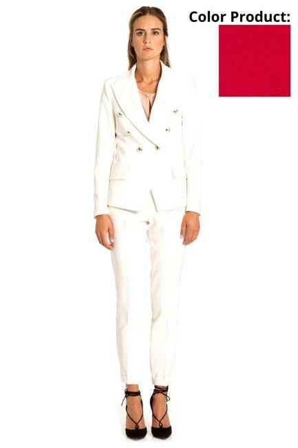 Pantaloni Donna Cristina Gavioli 1063 Geranio