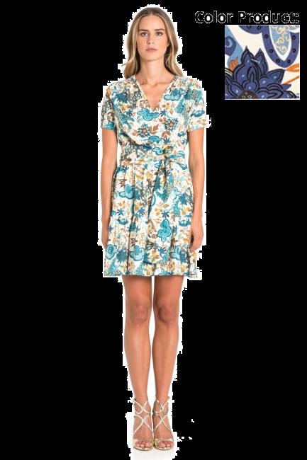 Dress Woman Cristina Gavioli CP1042 Geranio