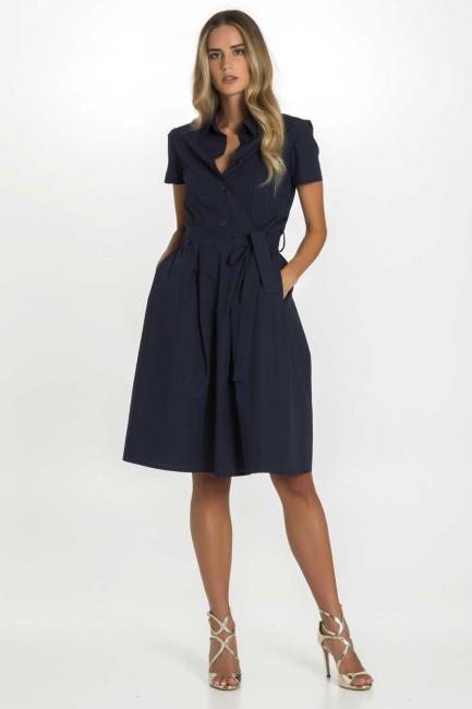 Dress Woman Cristina Gavioli CP1047 Blu