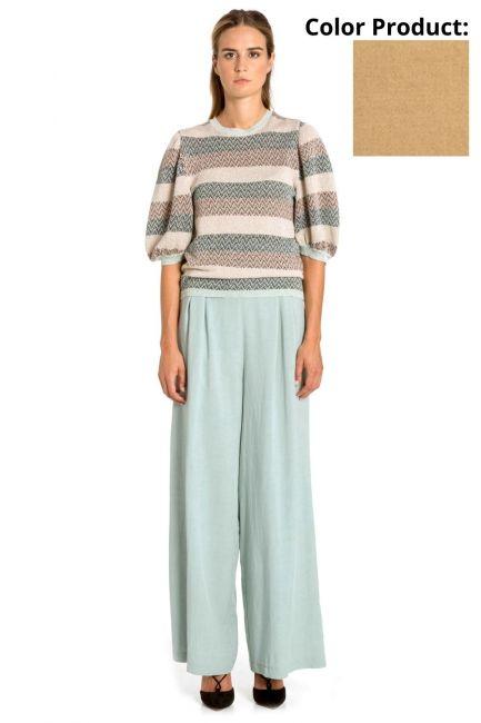 Pantaloni Donna Cristina Gavioli 3013 Corda