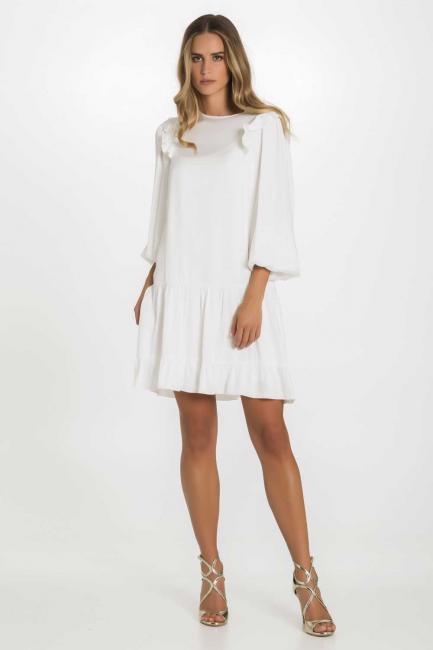 Dress Woman Cristina Gavioli CP1066 Naturale