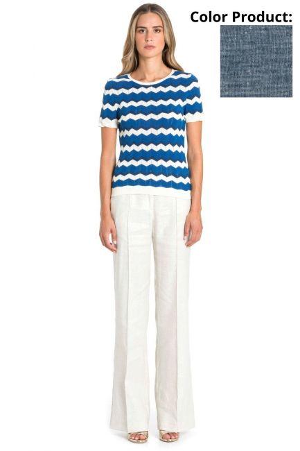 Trousers Woman Cristina Gavioli CP1077 Jeans