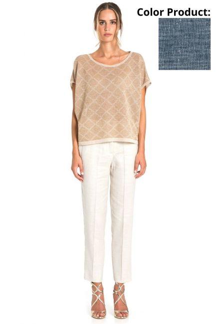 Pantaloni Donna Cristina Gavioli 6005 Jeans