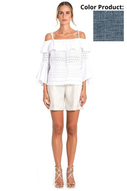 Shorts Woman Cristina Gavioli CP1079 Jeans