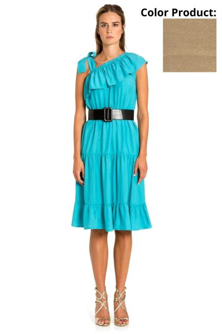 Dress Woman Cristina Gavioli CP1086 Corda