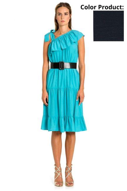 Dress Woman Cristina Gavioli CP1086 Blu