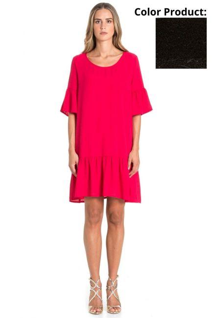 Dress Woman Cristina Gavioli CP1088 Nero