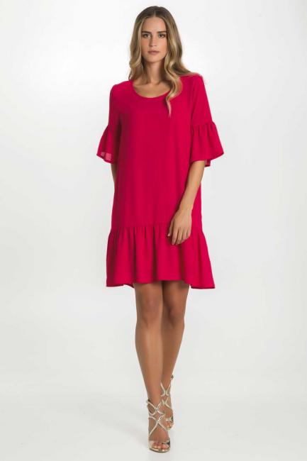 Dress Woman Cristina Gavioli CP1088 Geranio
