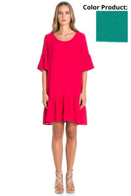 Dress Woman Cristina Gavioli CP1088 Turchese