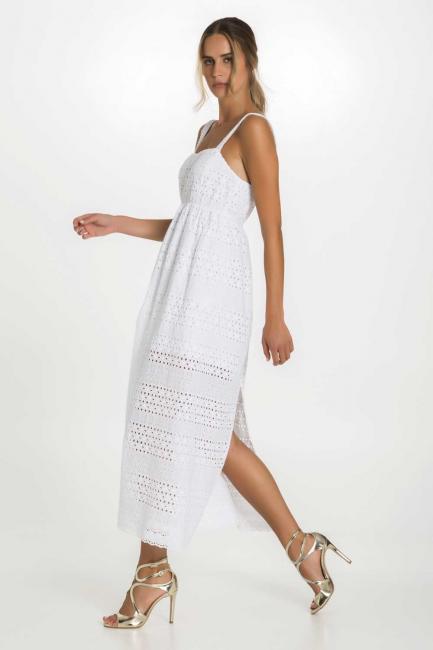 Dress Woman Cristina Gavioli CP1094 Bianco