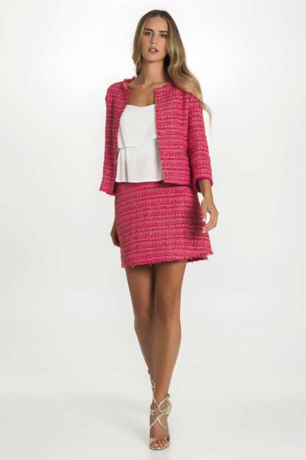 Skirt Woman Cristina Gavioli CP1108 Rosa
