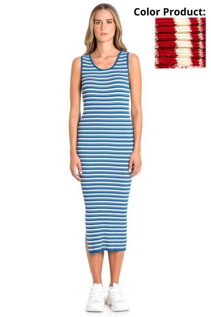 Dress Woman Cristina Gavioli KP1036 Geranio
