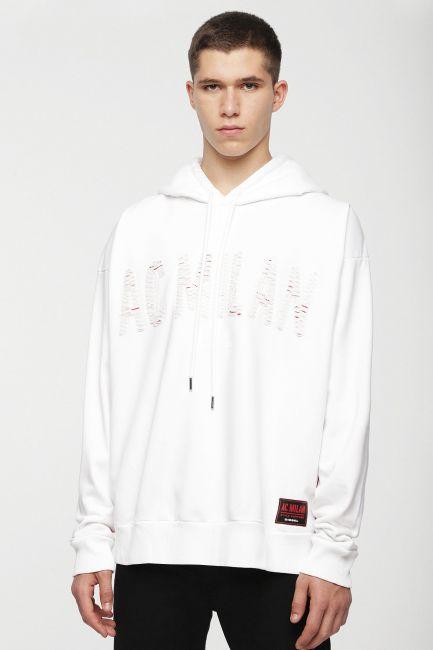 Men's sweatshirt Diesel white 00SSST0DAVT