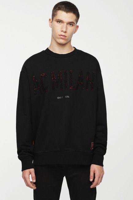 Men's sweatshirt Diesel black 00SSSZ0DAVT