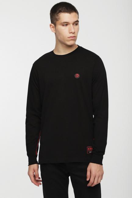 Men's T-shirt Diesel Black 00SSSR0JATB