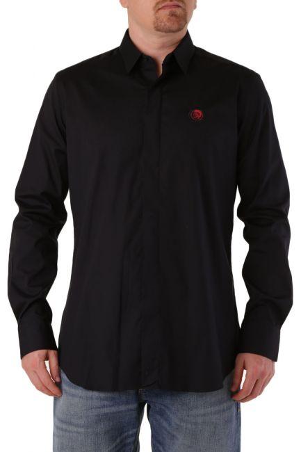 Men's Shirt Diesel black 00STYD0BAVS
