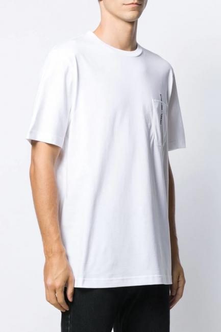 Men's T-Shirt Diesel White 00SZFR0PATI