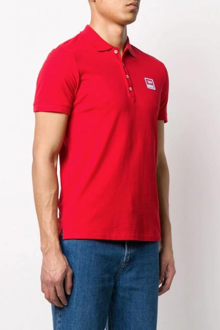 Men's Polo Diesel Red 00SAVB0BAWH
