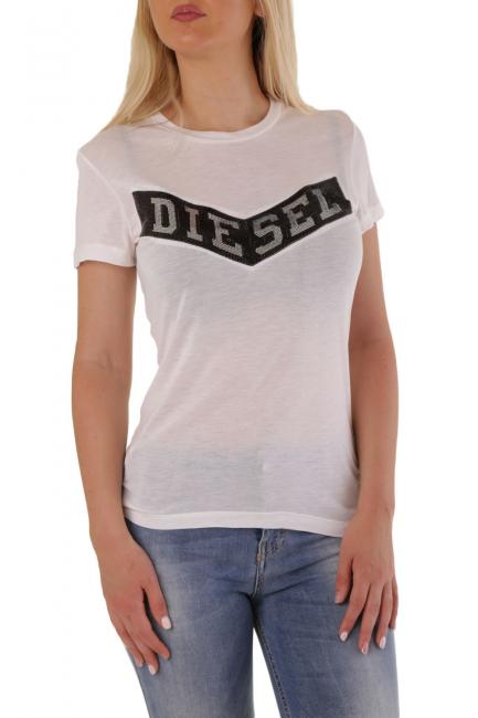 T-Shirt Donna Diesel Bianco 00SQWZ0GAID