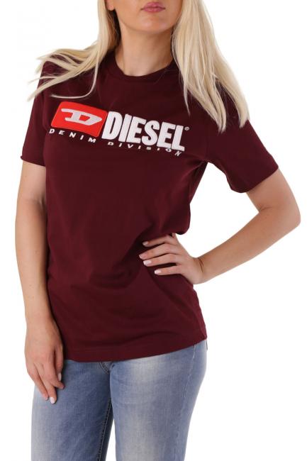 T-Shirt Donna Diesel Rosso 00SJGC0CATJ