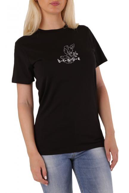 T-Shirt Donna Diesel Nero 00SI470CZJA