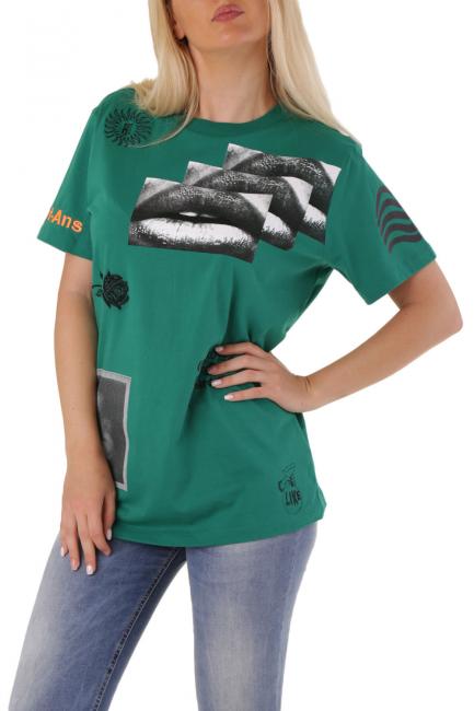 T-Shirt Donna Diesel Verde 00SEKW0HERA
