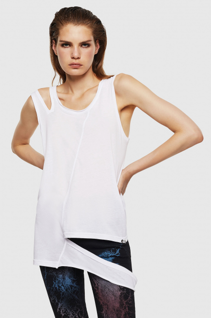 Top Donna Diesel Bianco 00SYW70BAQY