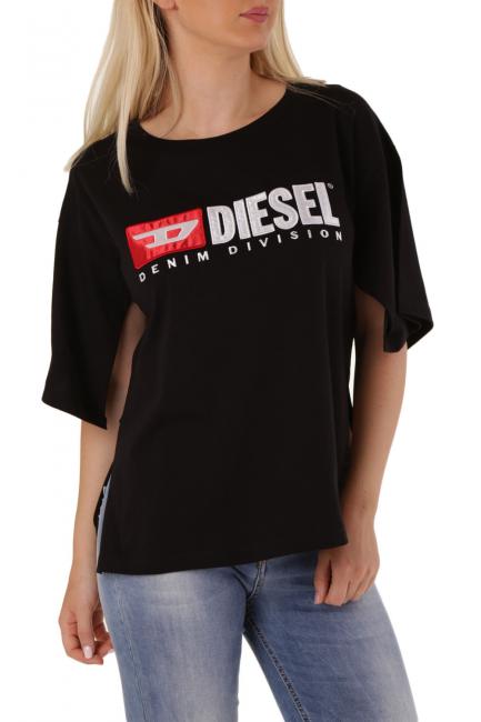 T-Shirt Donna Diesel Nero 00SBGN0HERA